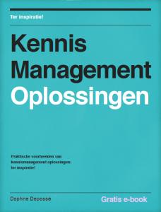 E-book Kennismanagement Oplossingen